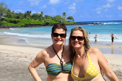 My Sis and I, Hamoa Beach Maui