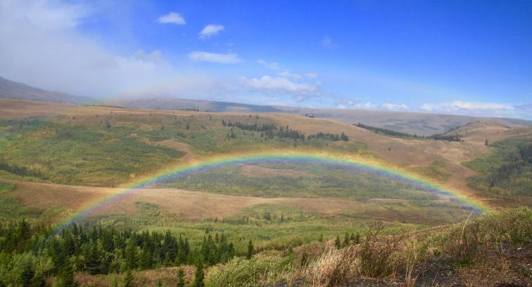 rainbow-in-glacier-park-montana