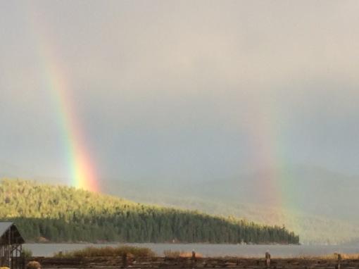 Double Rainbow a sign?