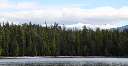 Priest lake's sandy beaches